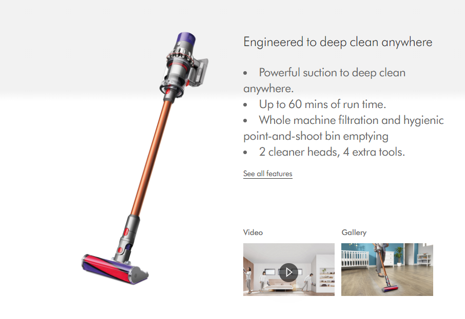 Dyson V10 Absolute  (CordFree)