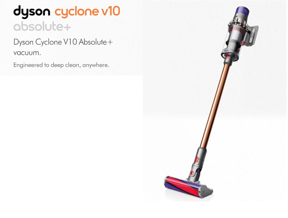 Dyson V10 Absolute +  (CordFree)
